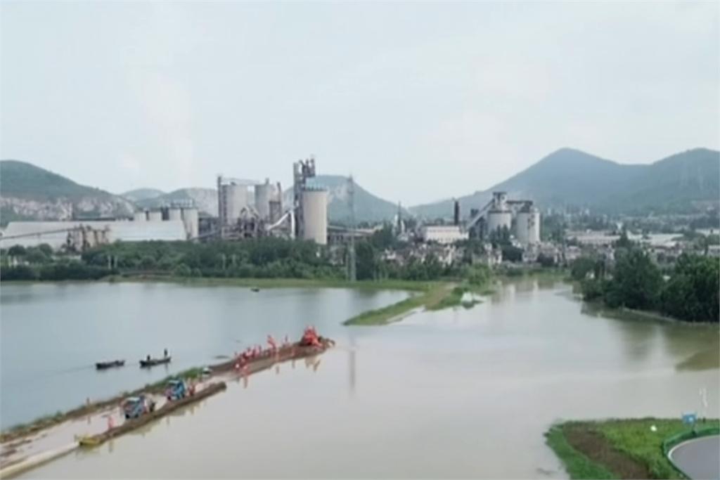 快新聞/長江流域持續「超水位警戒」 中國水利部再警告:黃河出現今年第2號洪水