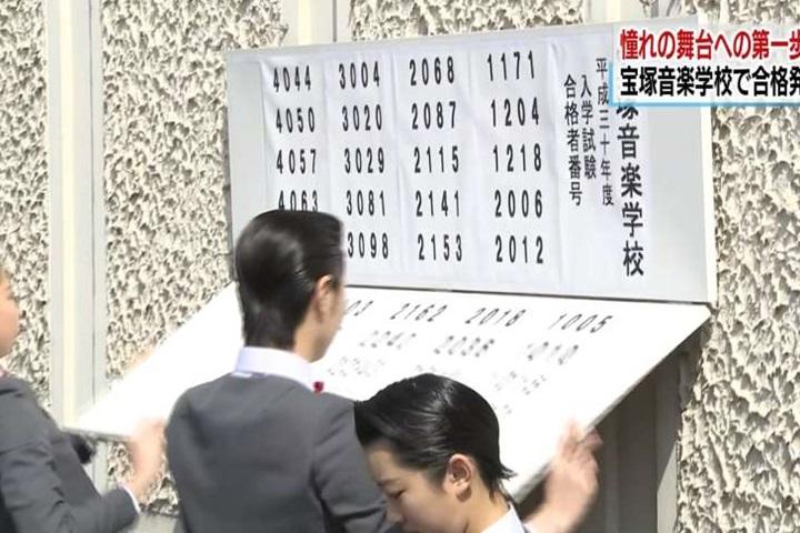 日本寶塚音樂學校放榜 40考生入選