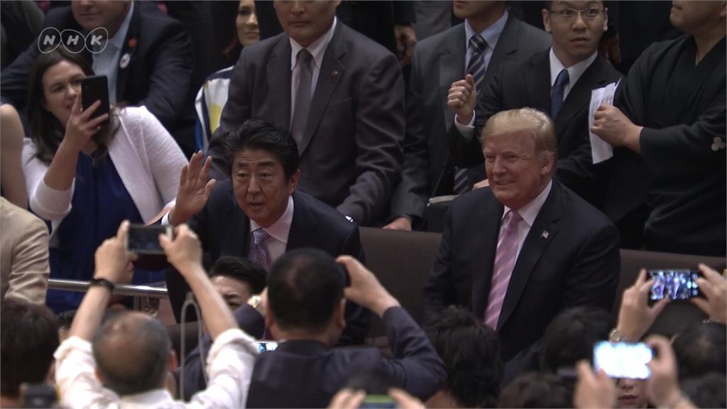 全球/川普坐椅看比賽惹議 日本國粹相撲為何神聖?