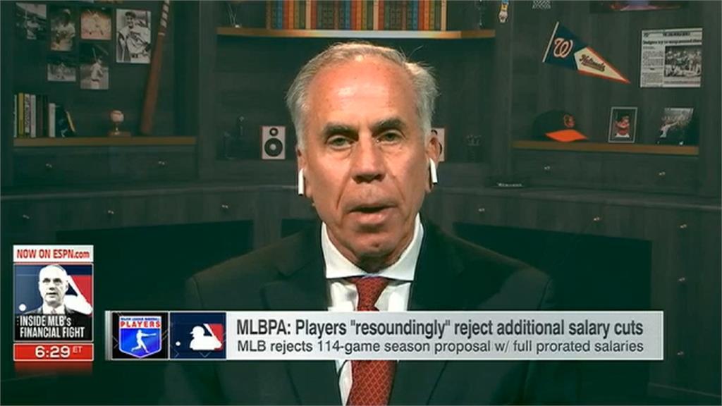 MLB/資方傾向僅打48場 大聯盟復賽歧見大