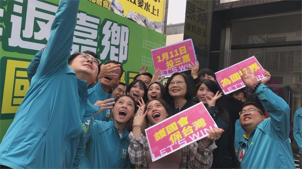 全世界都在關注!約100家外媒來台關注台灣大選