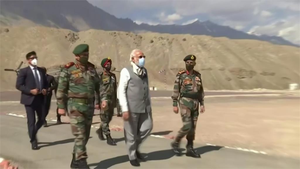 中印邊界衝突升溫!印度總理莫迪親自出馬視察