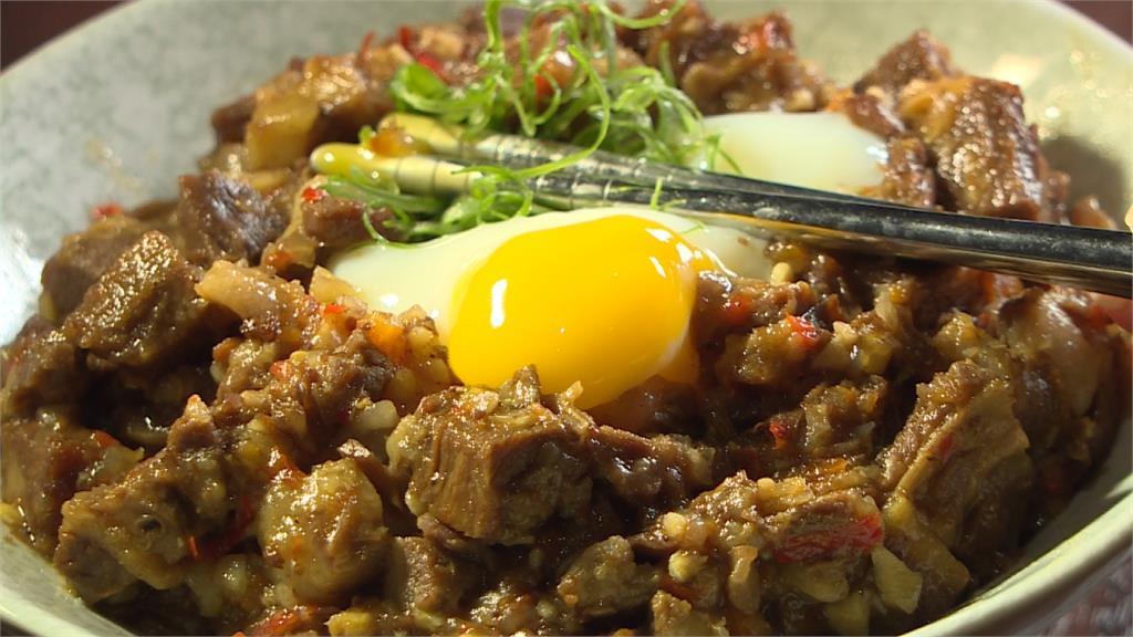 西餐廳吃台灣菜!牛舌滷肉飯配半熟蛋迸出新滋味