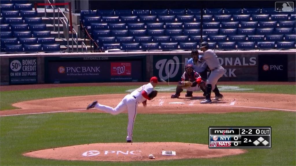 MLB/洋基逆轉險勝國民 明對費城人強碰喬拉帝