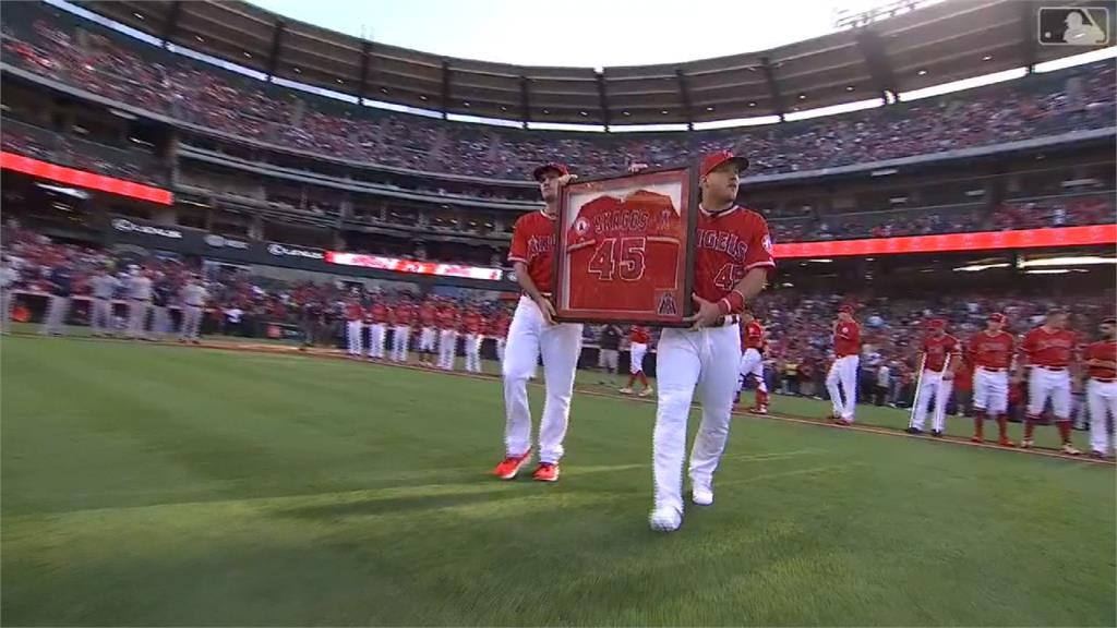 MLB/天使隊紀念史凱格斯 兩投手合飆無安打比賽