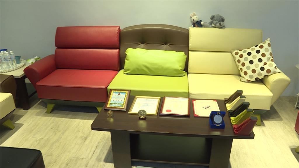 壞哪換哪超方便  「組合式沙發」奪國際發明展銀獎