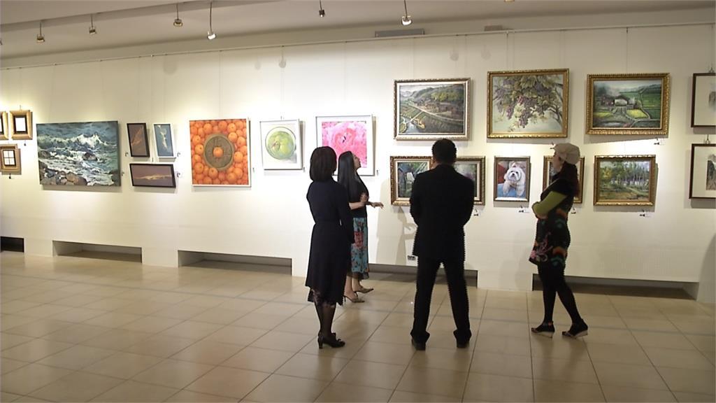 中國畫家王夢琪畫展 國父紀念館連展9天