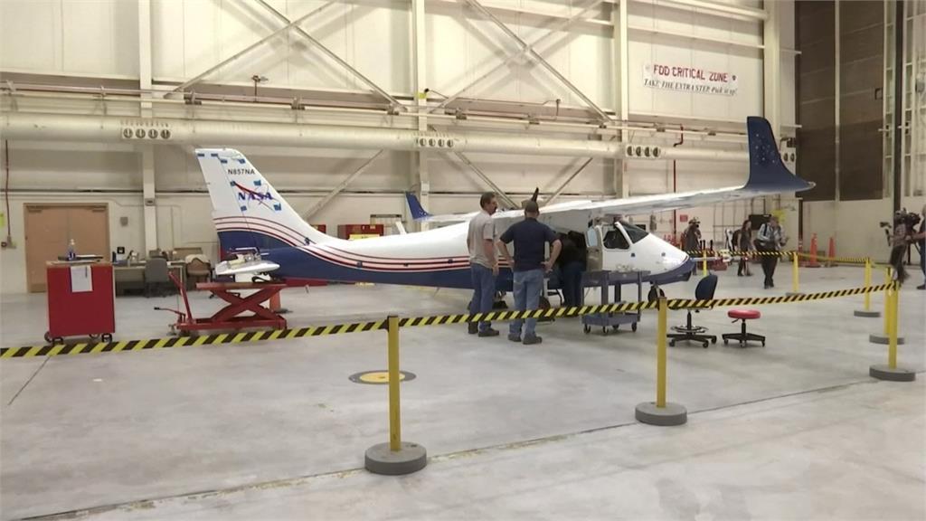 NASA發表電動飛機 最快明年完工翱翔天際