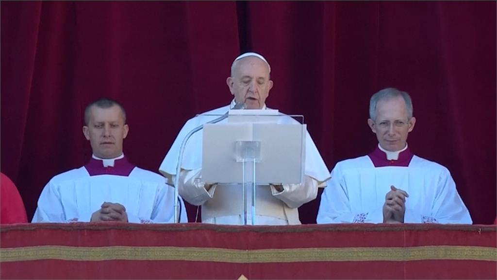 耶誕節宣讀文告 教宗關心戰亂兒童