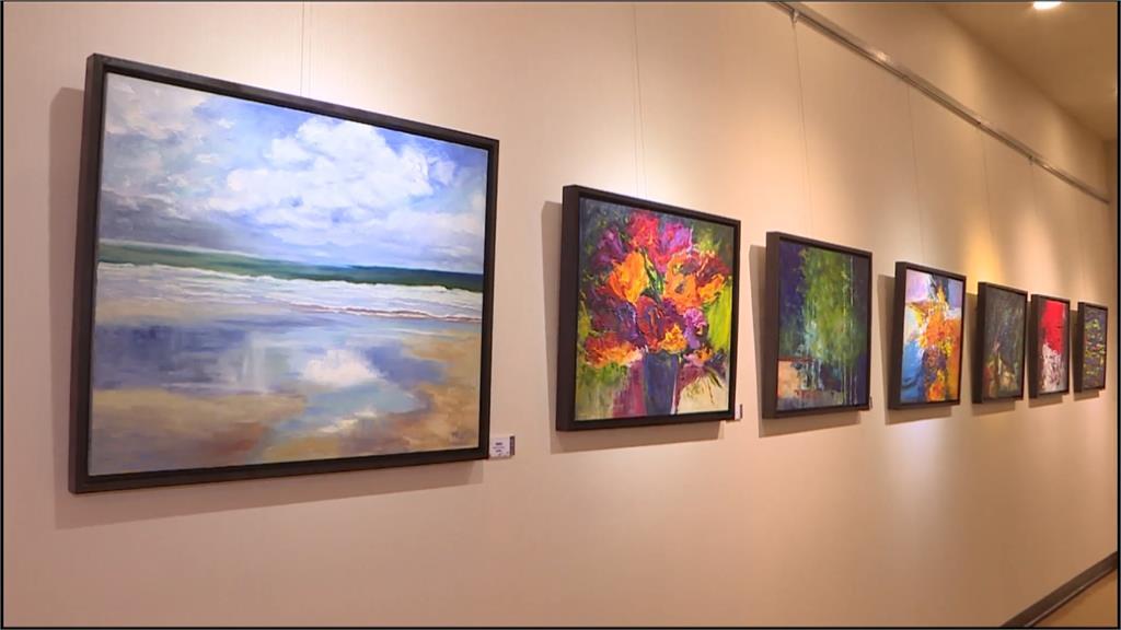 陳又華辦個人畫展訴說繪畫心情 寫實風精進到抽象技術