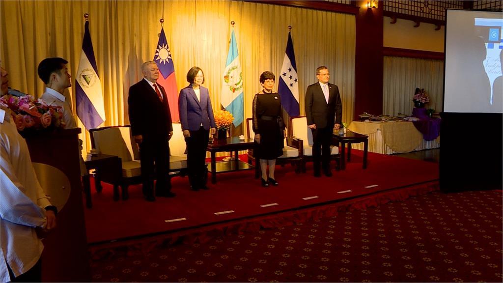 中美洲獨立197年酒會 海地、教廷大使缺席