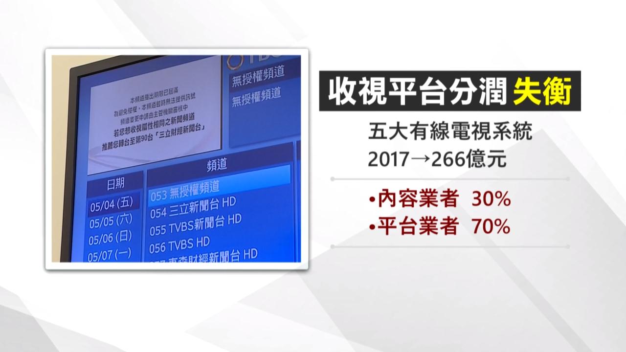 TBC惡意下架 民視新聞成郭台銘討好中國犧牲品