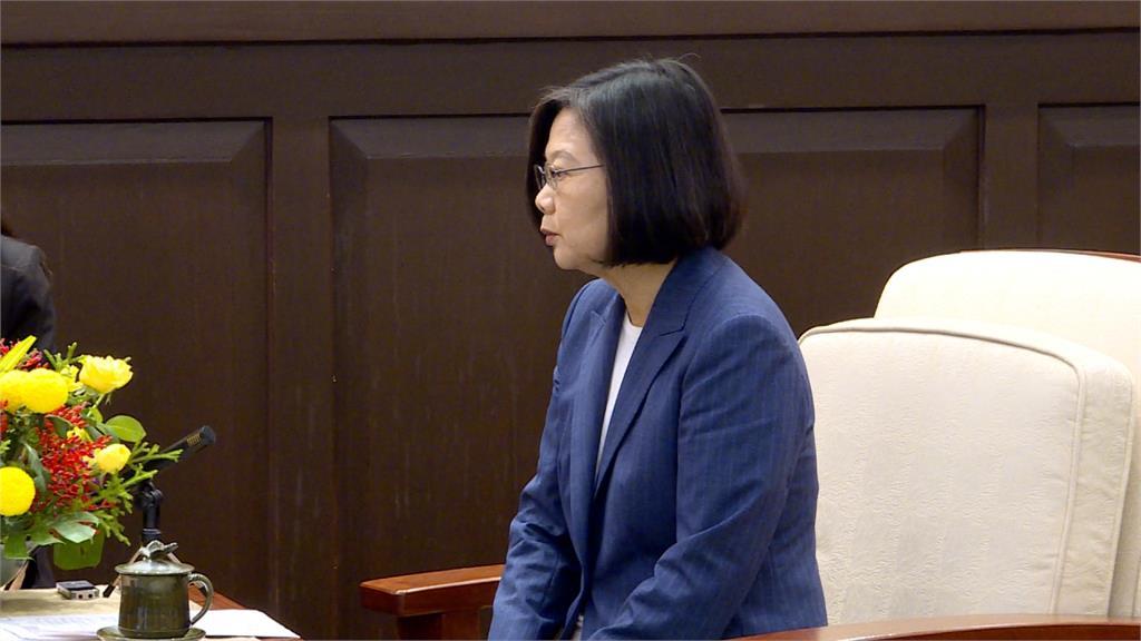 蔡英文駁斥介入香港示威!籲中國:別把責任推給不存在外力
