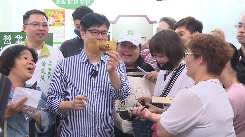 與陳其邁團隊共同戰市長補選?黃捷表態樂意合作