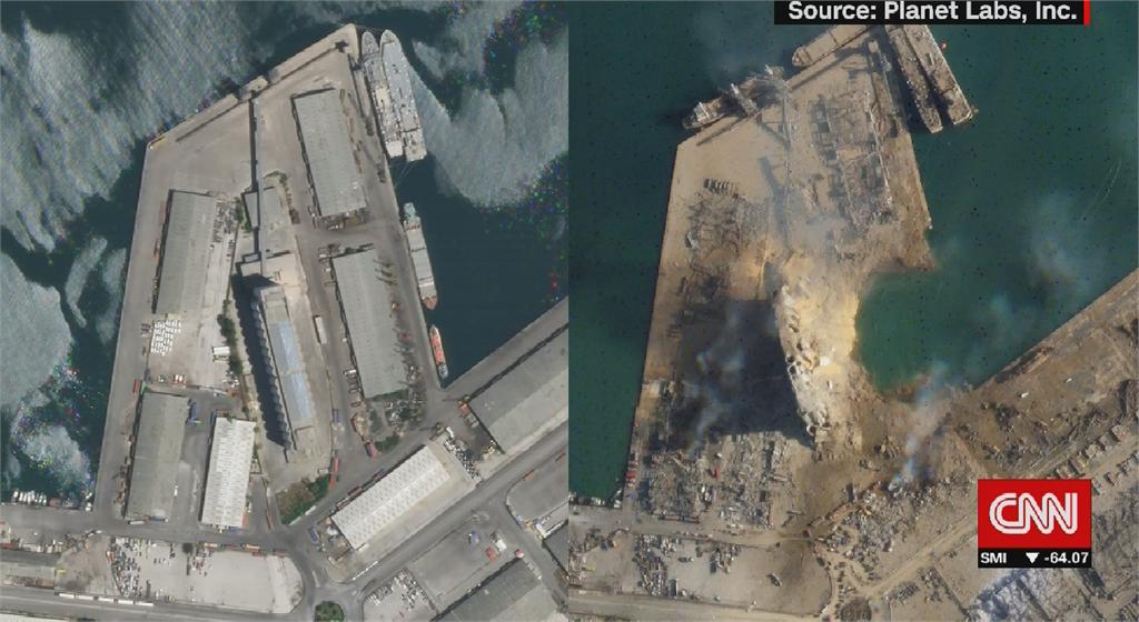 黎巴嫩港口大爆炸進入緊急狀態 海關官員曾警告很危險