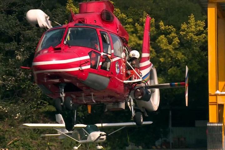 紀念英勇殉職飛官 空勤直升機捐贈學校