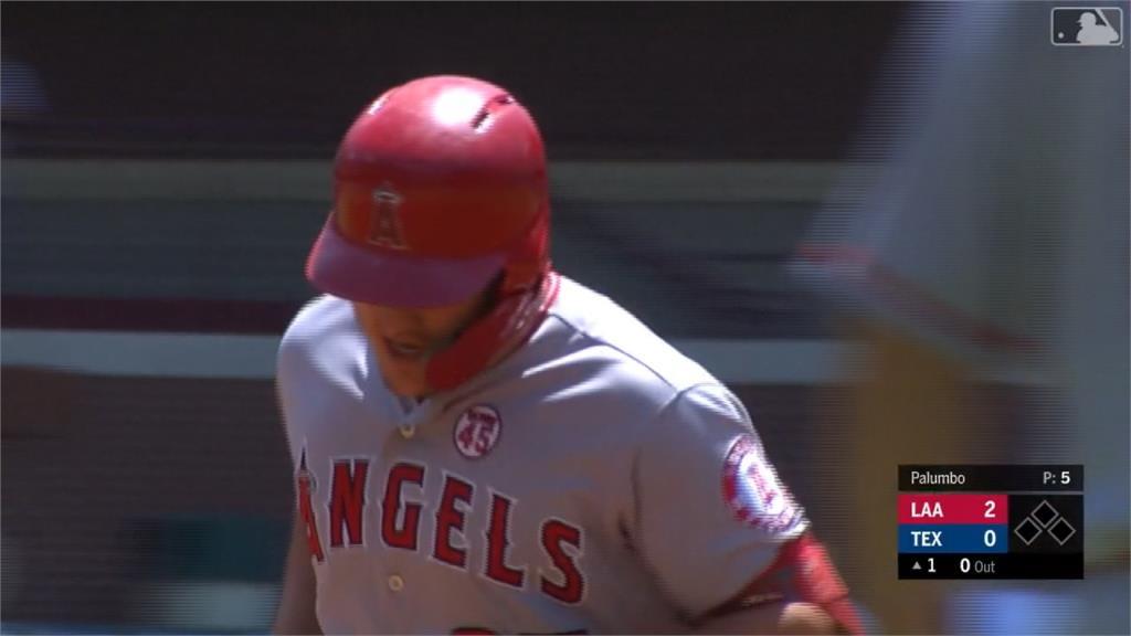 MLB/楚奧特42轟並列全壘打王 大谷再演猛打賞