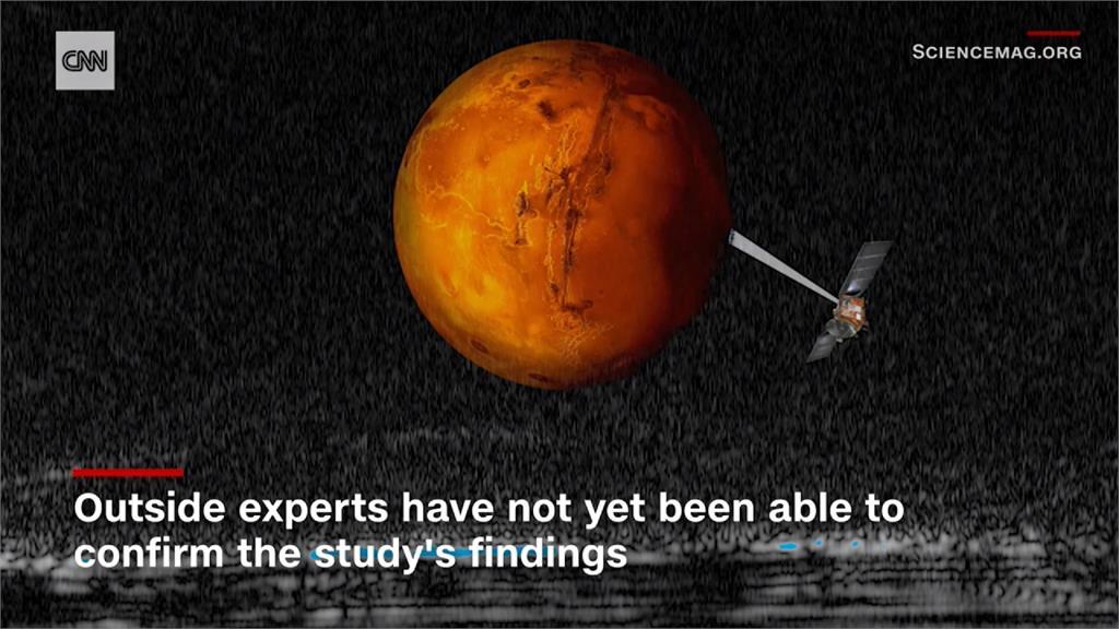 火星有巨大地底湖!科學家懷疑可能有生命體
