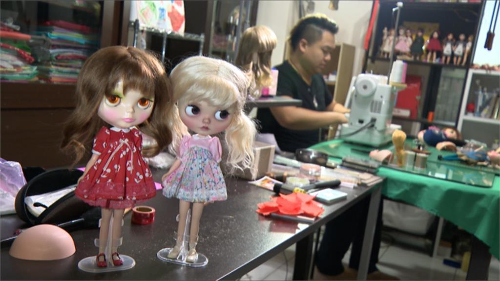 替娃娃設計衣服!網紅「友露安」巧手創業