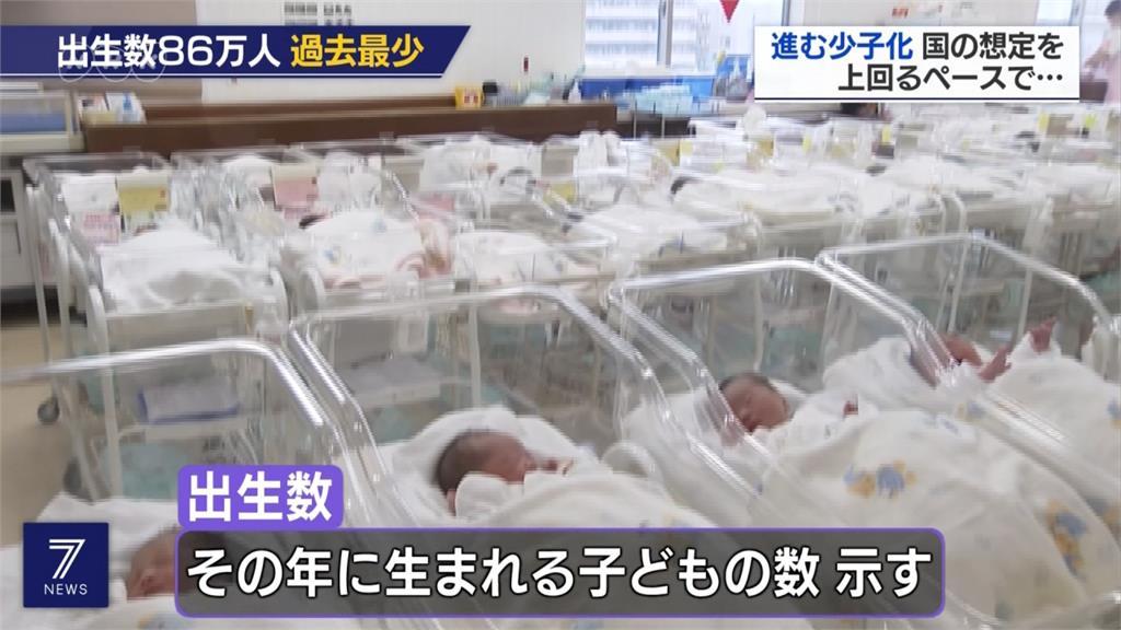 少子化問題加速惡化!日本今年新生兒86萬人創百餘年新低