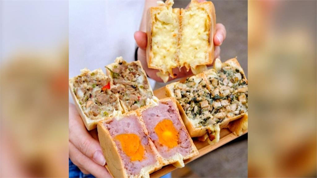 新竹竹北超大車輪餅「內餡7公分厚」!榴槤起司口味全台唯一
