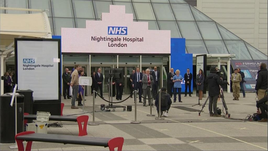 確診、死亡人數飆升!英國版方艙「南丁格爾醫院」9天內緊急完工