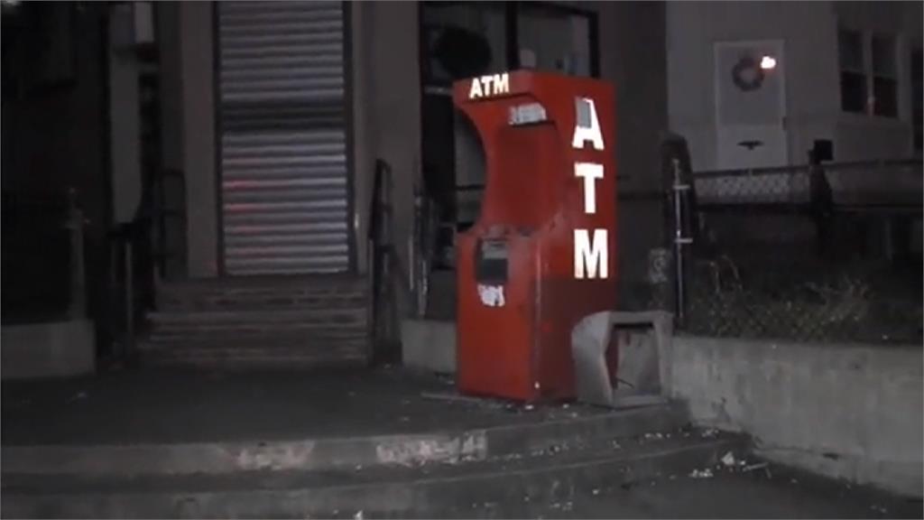 竊賊炸掉ATM奪走現金 費城約50台機器遭破壞