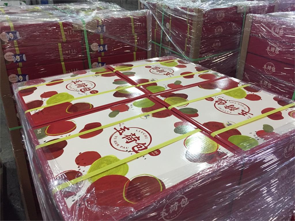 日本消費者有口福!1800盒高雄首選玉荷包禮盒空運直飛日本