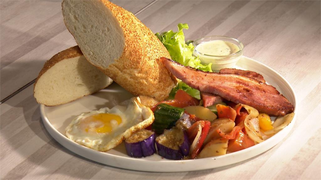 搶攻早午餐市場 王品推出地中海風培根餐