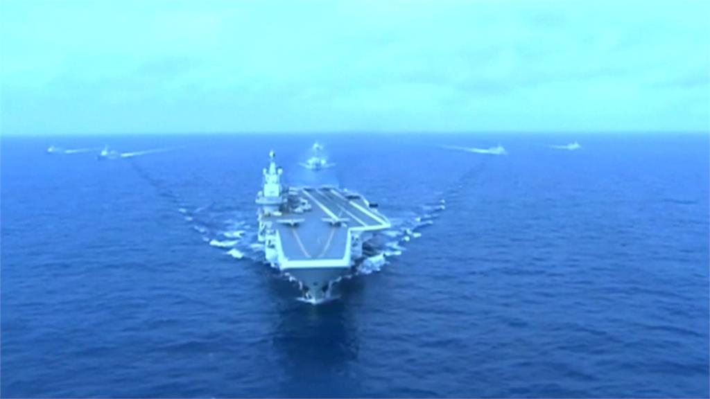 遼寧號12日晚間又擾台 國防部:全程嚴密監控