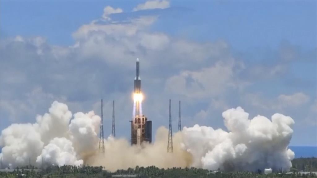 中國首次火星探測任務 「天問一號」升空