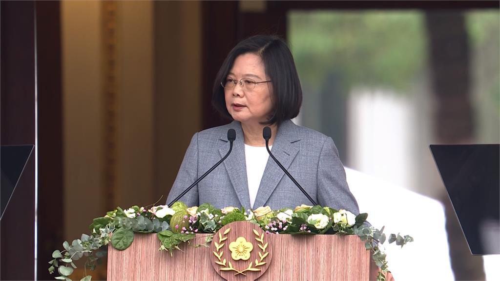蔡總統再發聲挺香港 強調解決方式應是「真正落實自由民主」