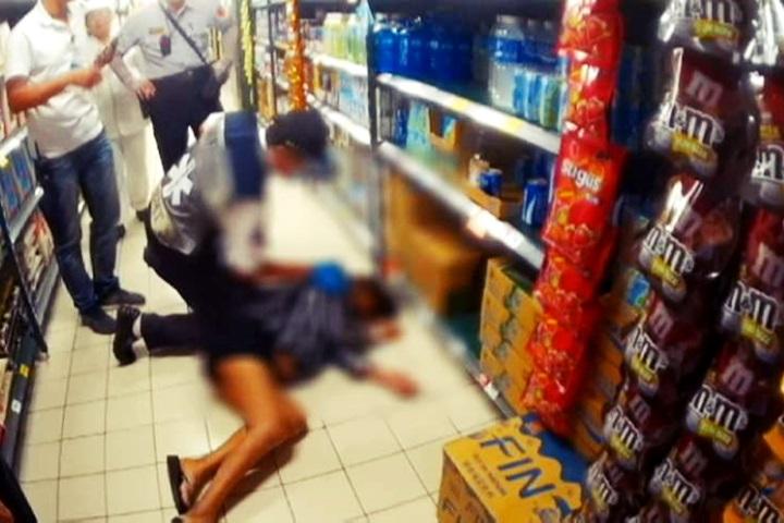 肝病孕婦酒癮發作 偷喝高粱醉倒賣場