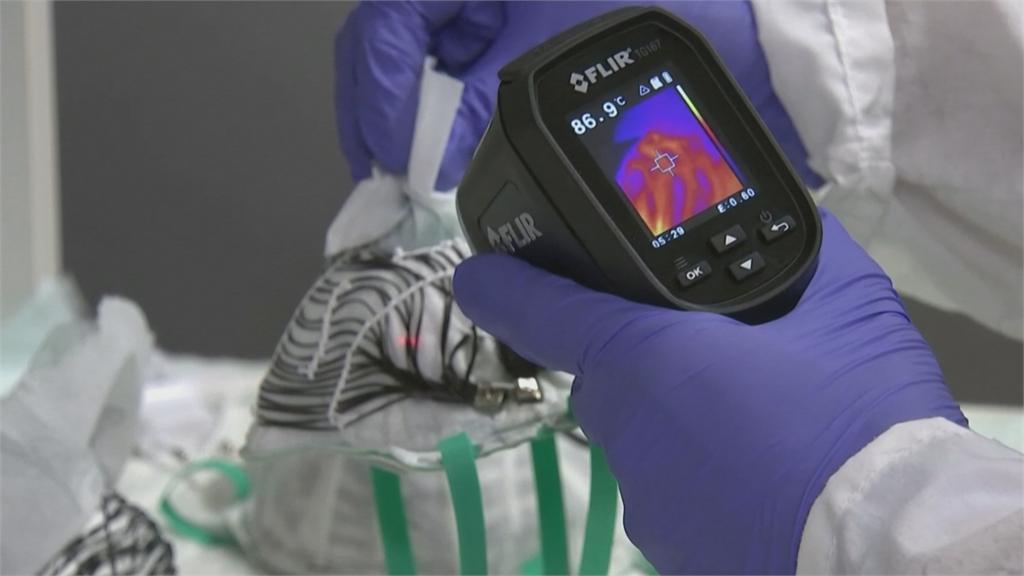 發熱口罩 充電30分鐘武肺病毒死光光