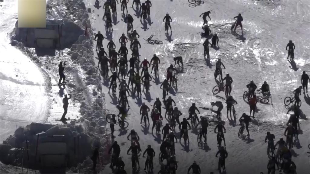「地獄山」自行車賽 賽事最末日車手連環撞