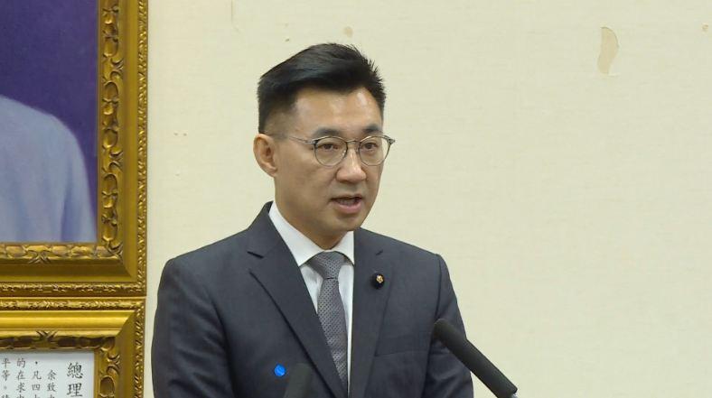 影/新任黨主席江啟臣上任 國民黨舉行就職典禮