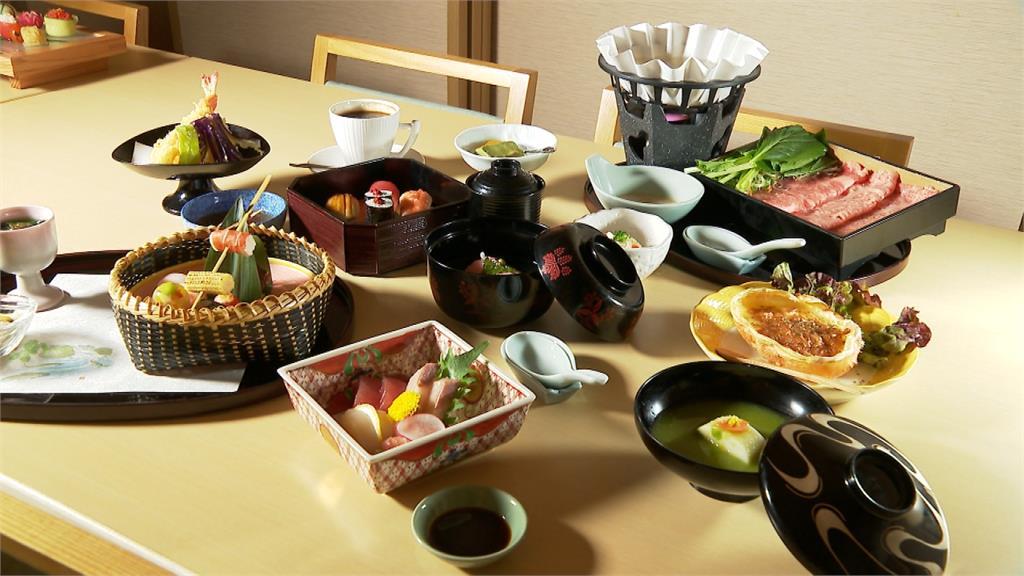 肥美鮭魚、和牛紙火鍋 關西風懷石料理搬上台灣餐桌