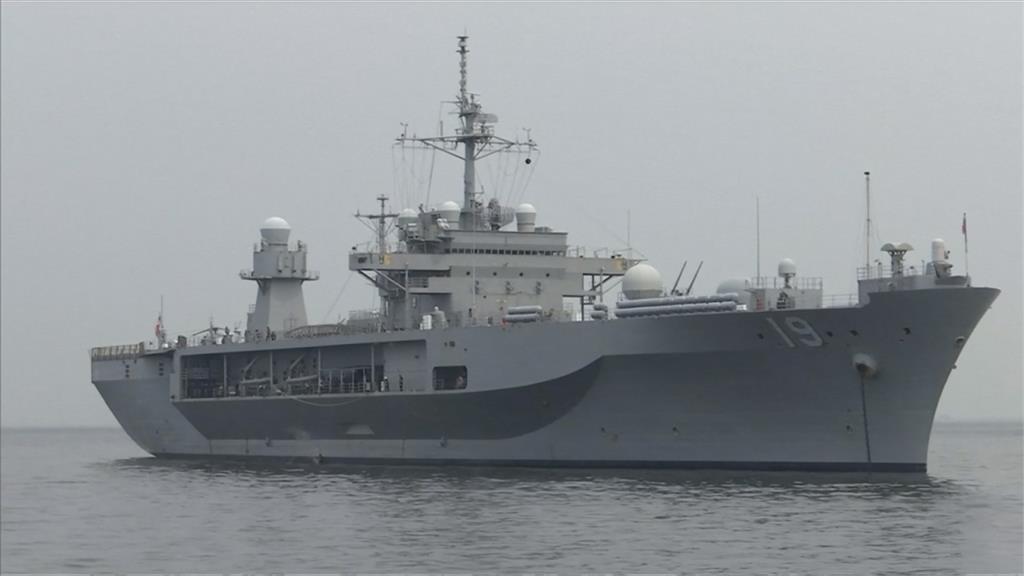美軍艦隊抵達菲律賓 經過南海與中國海軍有互動