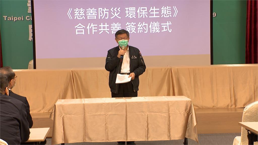 部屬蔡壁如備戰高雄市長補選?柯文哲裝傻問記者:什麼時候要離職