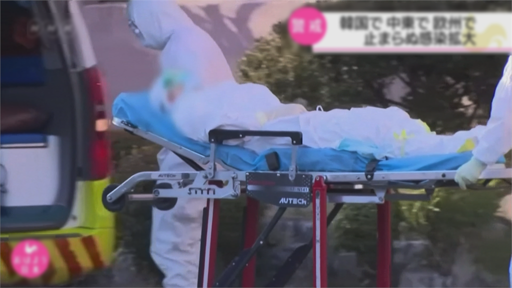 快新聞/南韓再添89例確診 全境累計「9976人染疫」直逼一萬大關