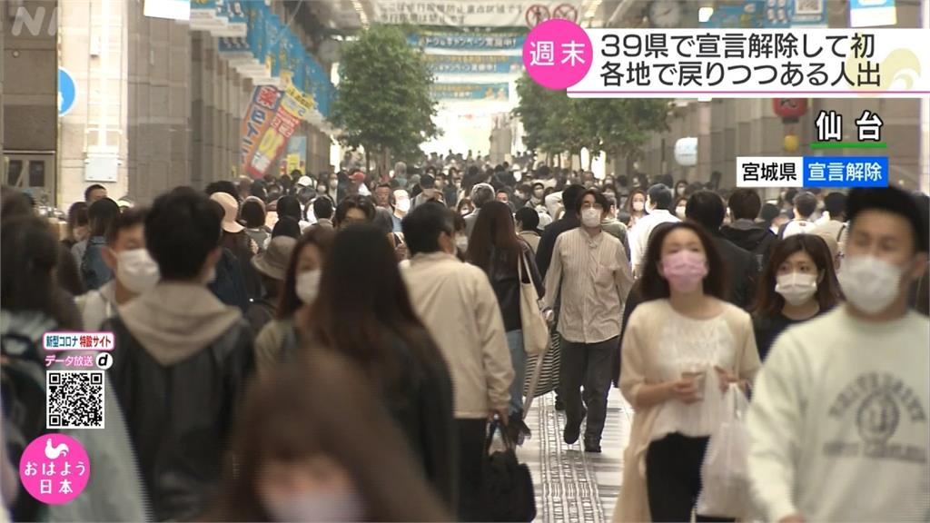 疫情緩景點湧人潮 日本政府憂爆二波傳染