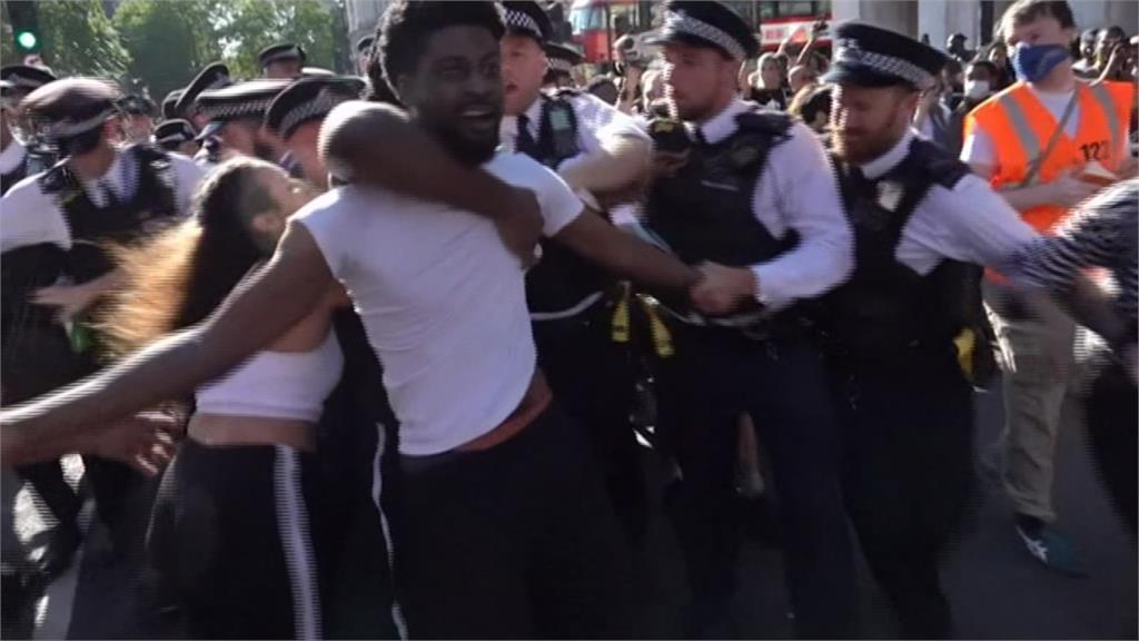 反種族歧視引爆全美大抗議 歐洲多國民眾響應