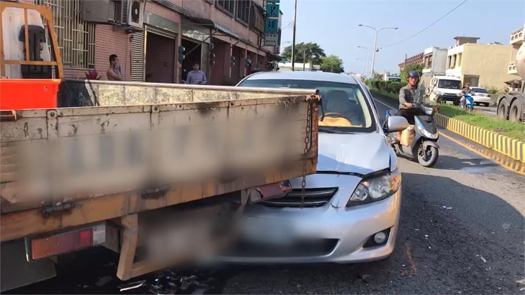 貨車煞車突然卡死 釀3車追撞...竟是一支寶特瓶惹禍