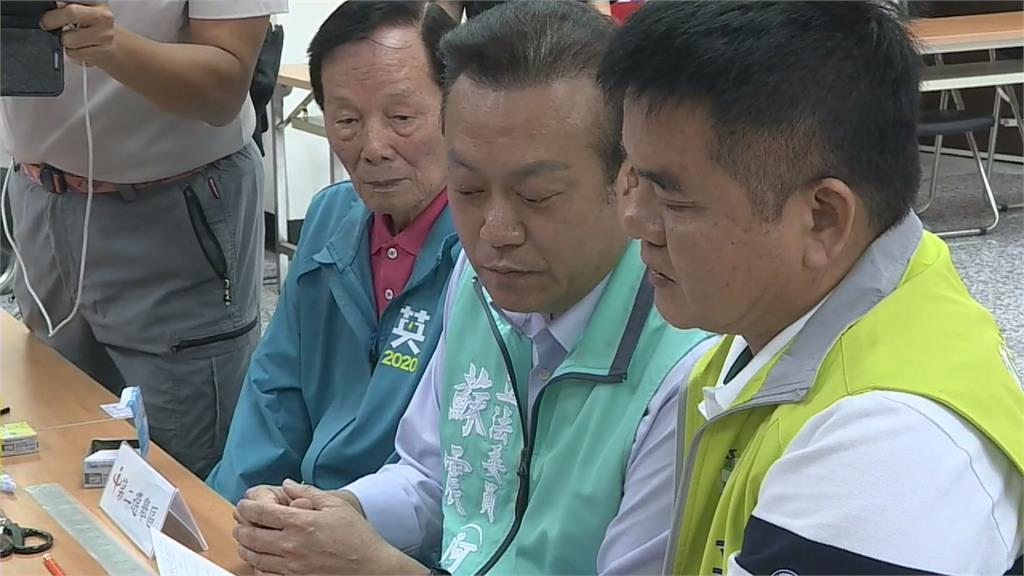 蘇震清無黨籍參選 屏東第二選區五強爭霸