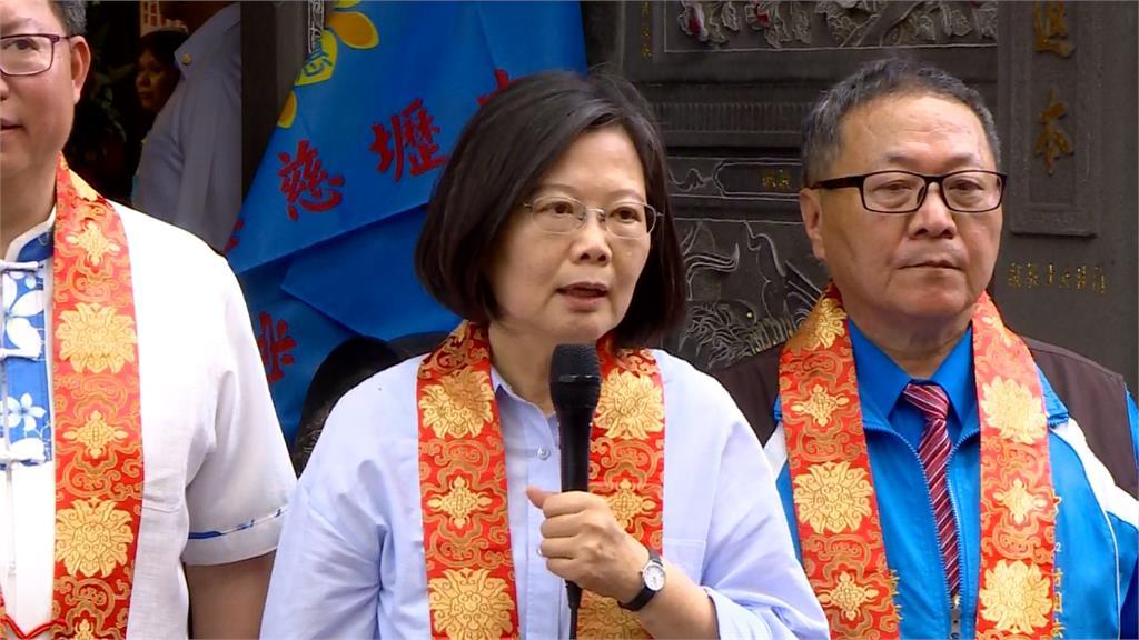 駁韓國瑜「蔡英文讓台灣不安全」總統:難道退讓才不危險?