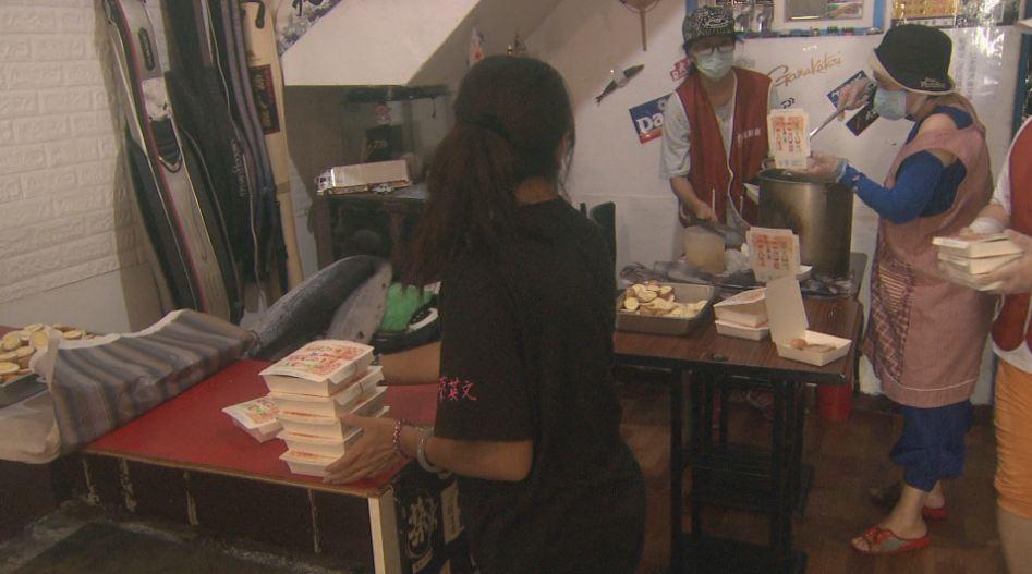 王瑞德兌現祭品文 請5百份「韓」式套餐