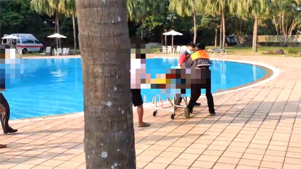 誤入游泳池深水區 7歲童溺水無呼吸心跳