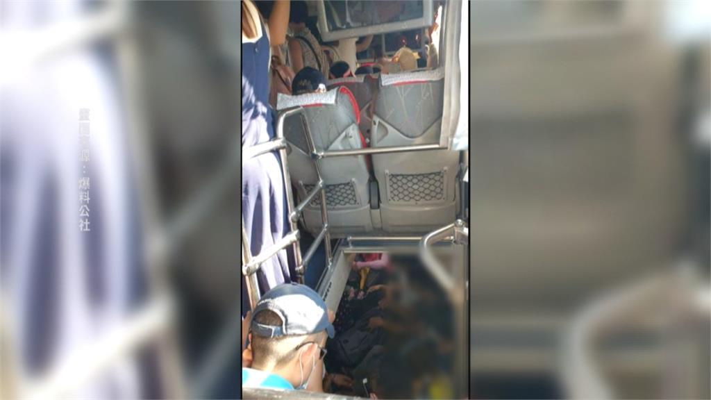 台東熱氣球嘉年華人潮爆量接駁車超載!網怒批罔顧乘客安全
