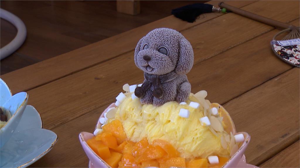 這款冰你捨得吃嗎?貓狗造型雪花冰超逼真