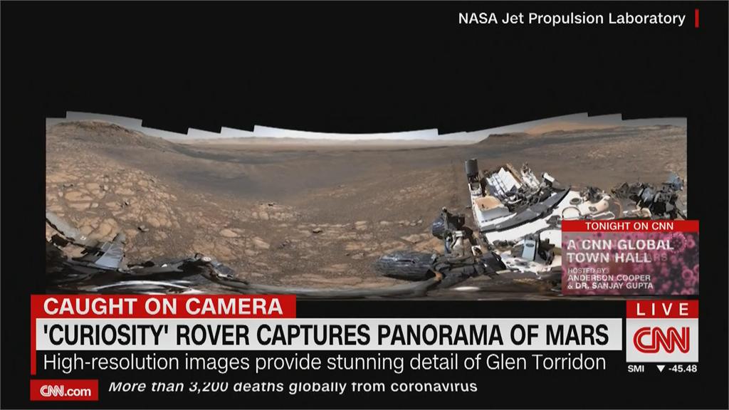 千張照片拼貼最新火星全景照